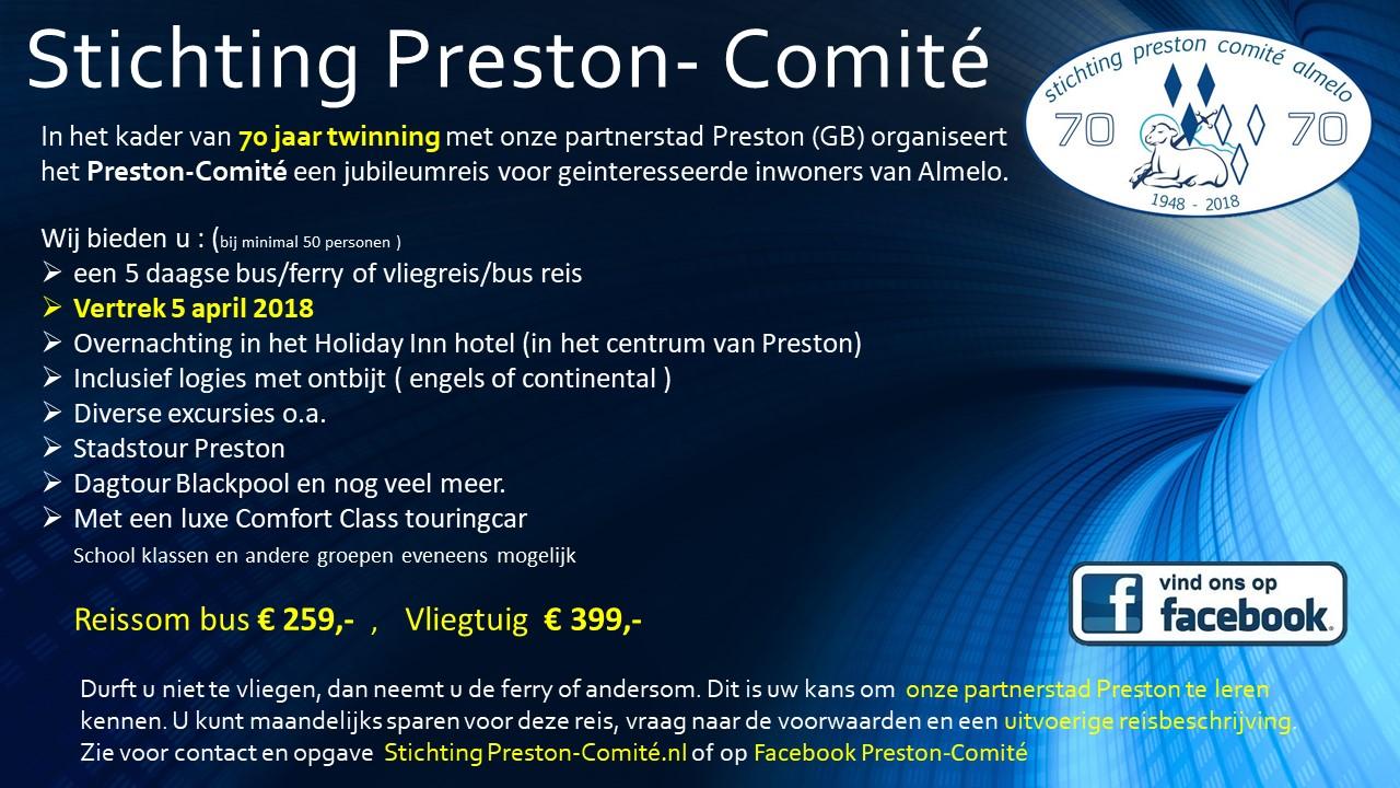 Stichting Preston- Comité JUB.reis